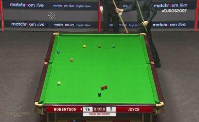 Setka Neila Robertsona w meczu 2. rundy English Open