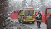 Wypadek na DK7. Dwie osoby nie żyją