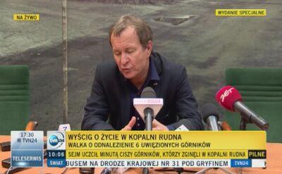 Trzech górników nie żyje po wstrząsie w kopalni KGHM