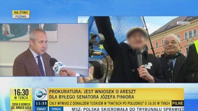 Obrońca Józefa Piniora: wniosek o areszt bezzasadny