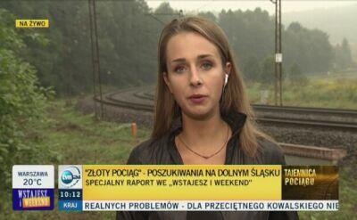 GOPR ostrzega przed samodzielnym poszukiwaniem pociągu