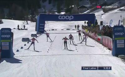 Diggins wygrała sprint stylem dowolnym w Cogne