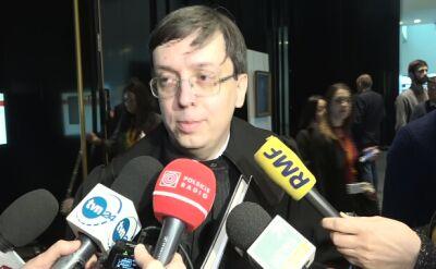 Przedstawiciel Polski Bogusław Majczyna po posiedzeniu TSUE