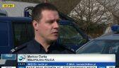 Kierowca nie zatrzymał się do kontroli, potrącił policjanta