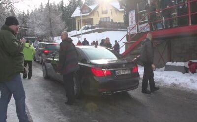 Przyjazd prezydenta Andrzeja Dudy do Karpacza