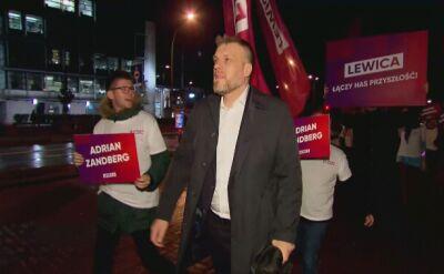 Adrian Zandberg będzie reprezentował Lewicę podczas debaty w TVN24