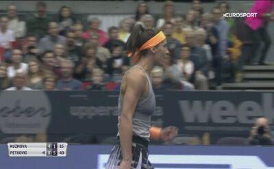 Andrea Petkovic awansowała do półfinału w Linzu
