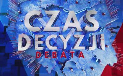 """Debata przedwyborcza w TVN24. """"Czas decyzji"""""""