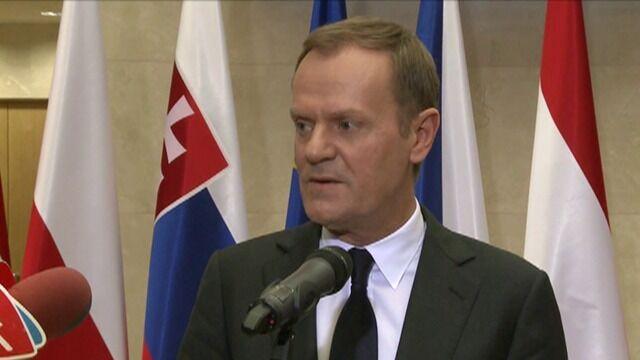 Tusk: Będą konsultacje ws. przystąpienia do EBC