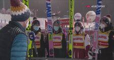Druga rozmowa z polskimi skoczkami po konkursie drużynowym w Zakopanem
