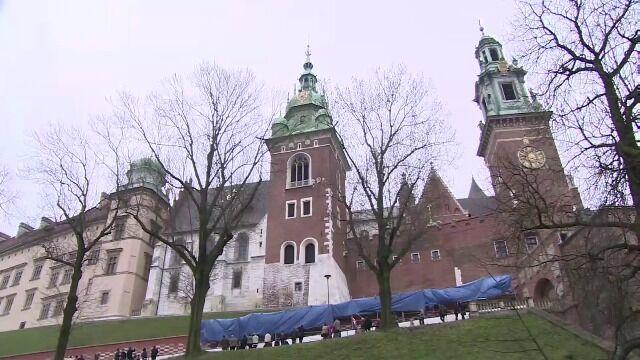 W Krakowie rozbrzmiał dzwon Zygmunta