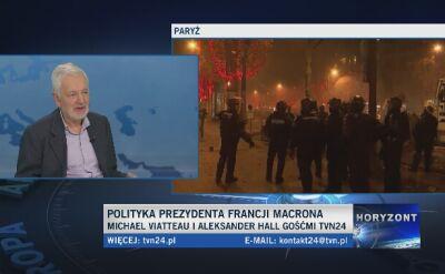 """""""We Francji mamy wielką tradycję protestów"""""""