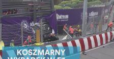 Koszmarny wypadek w F3, Niemka ledwo uszła z życiem