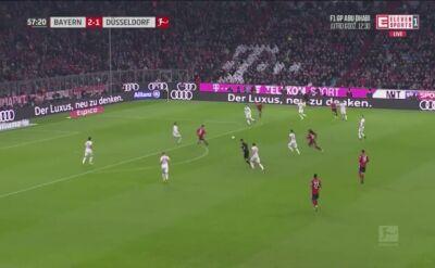 Asysta i kiks Lewandowskiego w meczu Bayern - Fortuna 3:3