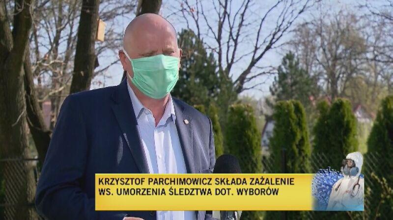 Parchimowicz: oczekuję, że sąd uchyli postanowienie i nakaże prowadzenie śledztwa