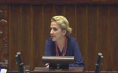 Joanna Scheuring-Wielgus: Drodzy państwo z PiS, przestraszyliście się, prawda?