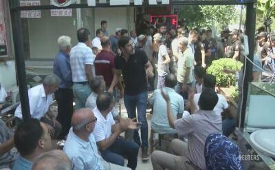 Protesty po odwołaniu trzech prokurdyjskich burmistrzów