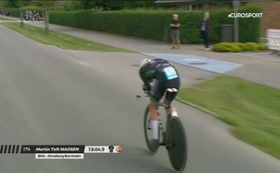 Madsen wygrał 2. etap PostNord Danmark Rundt