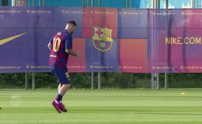 Messi wrócił do treningów z zespołem