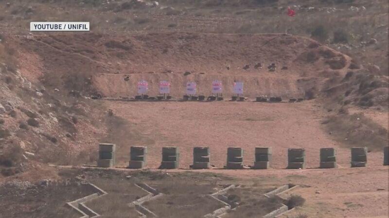 Szkolenie strzeleckie żołnierzy ONZ i sił zbrojnych Libanu (dźwięk oryginalny, język angielski)