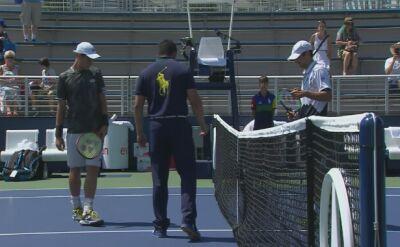 Skrót meczu Majchrzak - Robredo w drugiej rundzie kwalifikacji do US Open