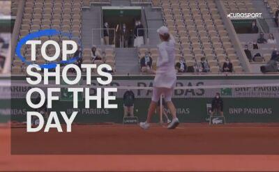 Najlepsze zagrania 12. dnia turnieju French Open
