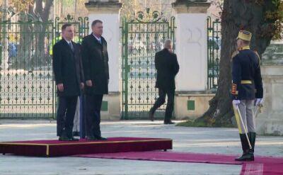 Prezydent Duda w Rumunii