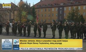 Żołnierze, którzy zasilą korpus oficerski WOT, złożą przysięgę