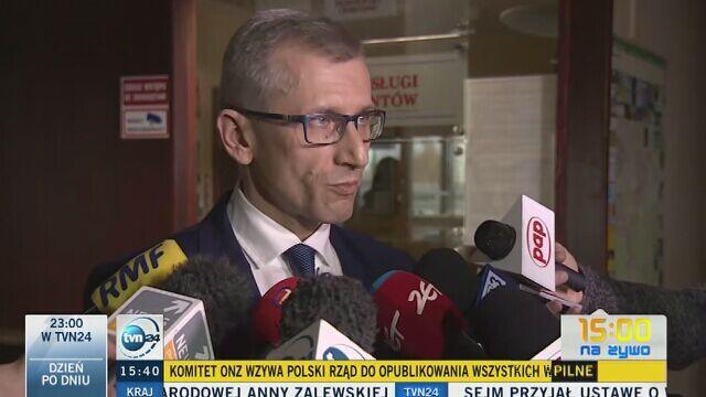 Prezes NIK: zarzuty wobec mnie są bezzasadne