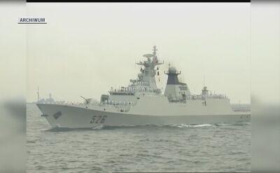 Chińska marynarka rośnie w siłę (nagrania archiwalne)