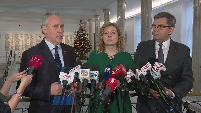 PO chce odwołania senatora Biereckiego