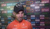 Jakub Mareczko przed rozpoczęciem Giro
