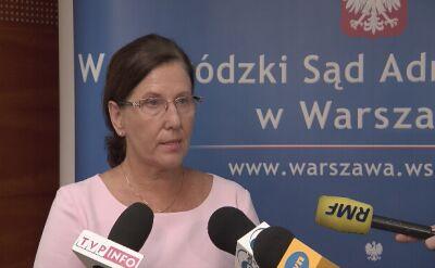 Prezes WSA odsunął sędziego Szmydta od wykonywania czynności służbowych