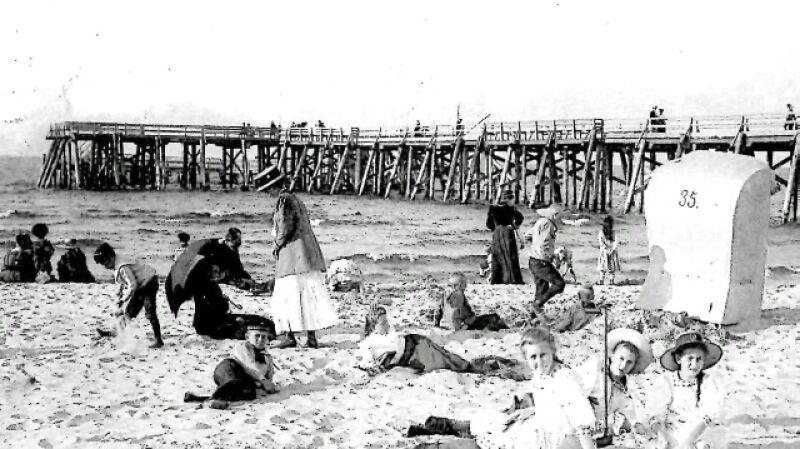 Westerplatte - dziś symbol wojny, przed jej wybuchem było modnym kurortem