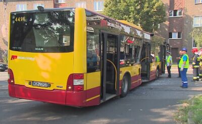 Tramwaj wjechał w autobus