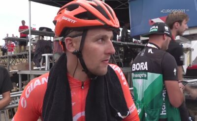 Szymon Sajnok po 7. etapie Vuelty