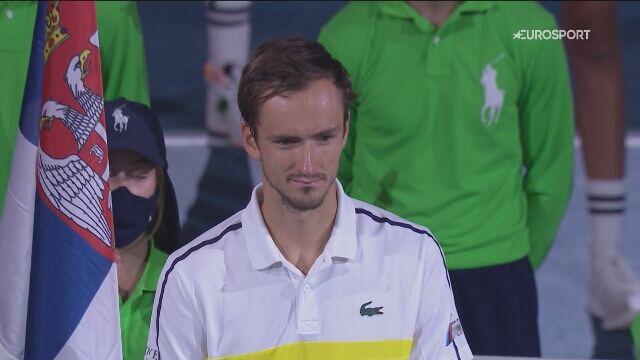 Przemowa Daniiła Miedwiediewa po finale Australian Open