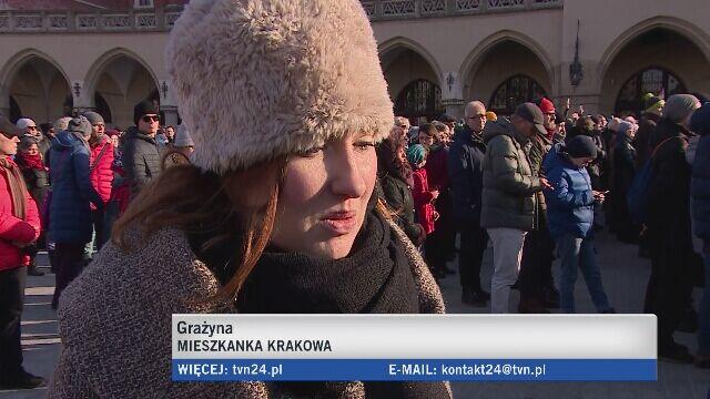 Marsz w Krakowie