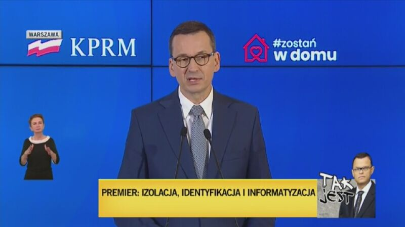 Morawiecki: od 20 kwietnia zdejmujemy pewne obostrzenia