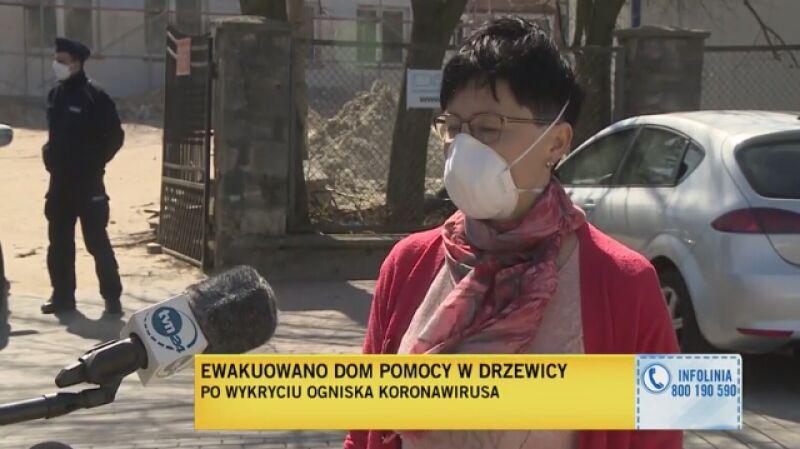 W środę ewakuowany został DPS w Drzewicy