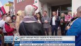 Tłum pod sądem w Słubicach. Trwa proces Jerzego Owsiaka