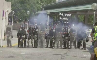 Mieszkańscy Hongkongu nie świętują 70-lecia powstania Chińskiej Republiki Ludowej