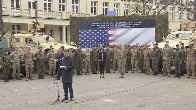 Szef MON: udało nam się uzgodnić trwały charakter obecności żołnierzy USA w Polsce