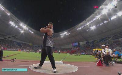 Pchnięcie Toma Walsha podczas finału MŚ