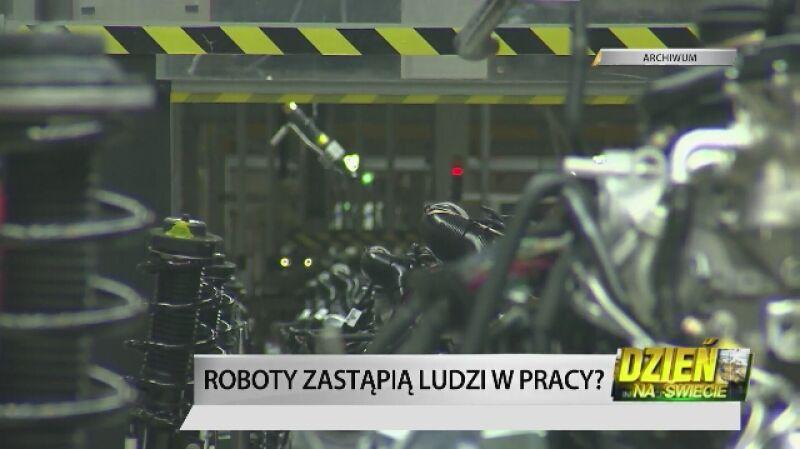"""Roboty nas zastąpią w pracy. """"Nie powinno nas to martwić"""""""