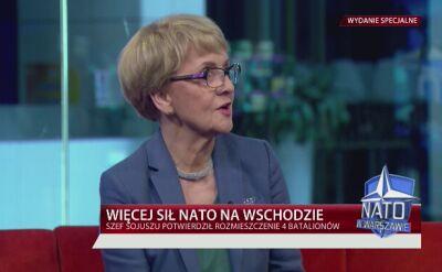 Huebner: szczyt NATO w Warszawie to demonstracja jedności