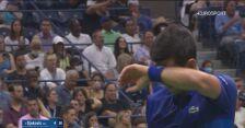 Najważniejsze wydarzenia z meczu Djokovic - Rune w 1. rundzie US Open