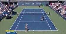 US Open. Fiona Ferro wygała pierwszego seta w meczu z Igą Świątek