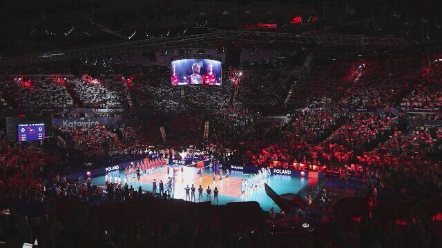 Polscy siatkarze po meczu ze Słowenią na mistrzostwach Europy