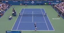 Pierwsze przełamanie dla Djokovicia w finale US Open
